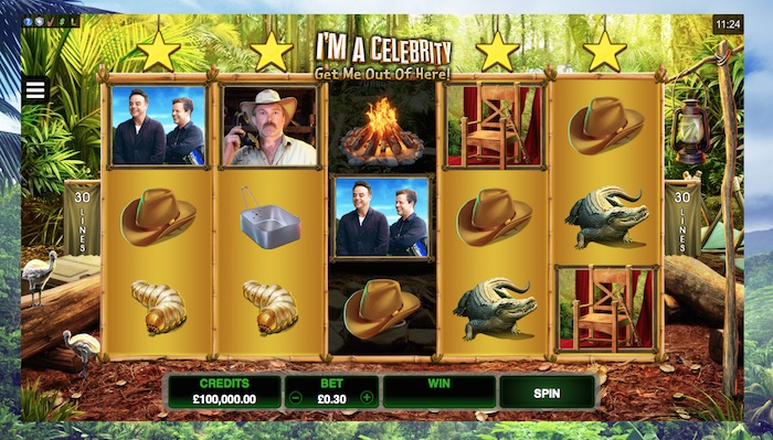Play Im a Celebrity Slot at 32 Red Casino