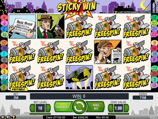 The NetEnt Jack Hammer Slot features a Free Spins Bonus Round