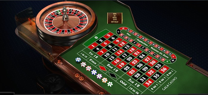 Online Roulette by Playtech at Galacasino.com
