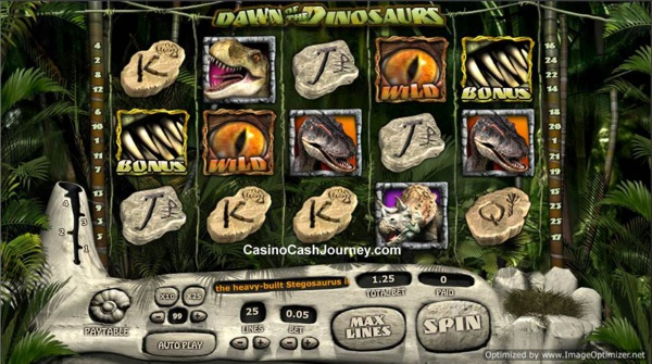 Dawn Of Dinosaurs™ Slot Machine Game to Play Free in 888 Slots Developers Online Casinos