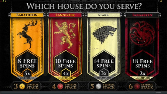 Play Microgaming Game of Thrones Slot
