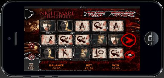 Random Logic A Nightmare On Elm Street Slot for Mobile