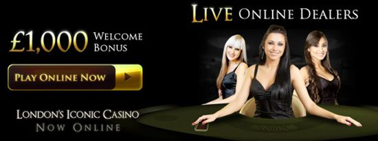 The welcome bonus at Hippodromeonline is worth £1000 for cash games and live dealers