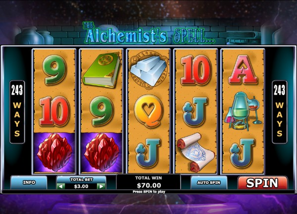 Play The Alchemists Spell Online Slot at Casino.com UK