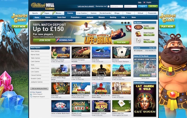 william hill casino club full site
