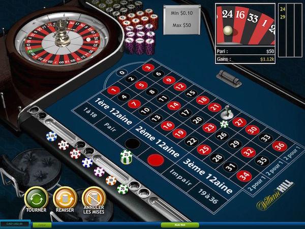 Online Roulette at Williamhill.com Casino