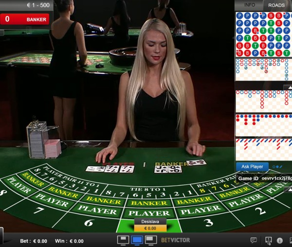 Play Live Casino at Betvictor.com