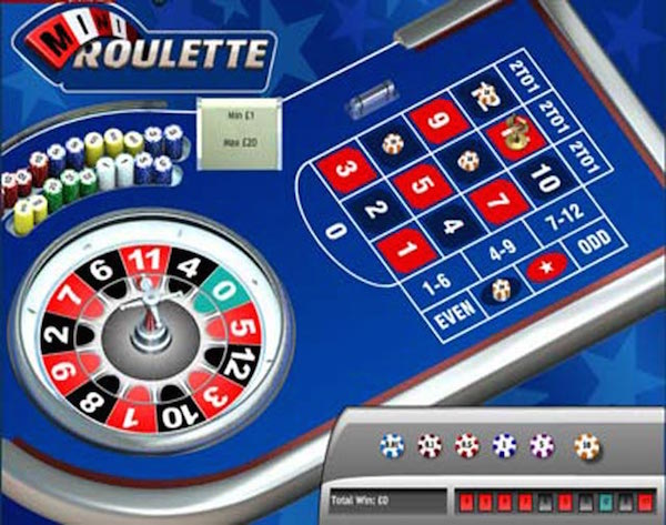 Play Mini Roulette at Galabingo.com Slots and Games