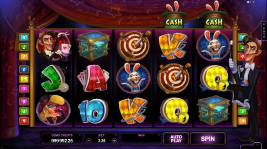 Screenshot of Microgaming Rabbit in the Hat Online Slot