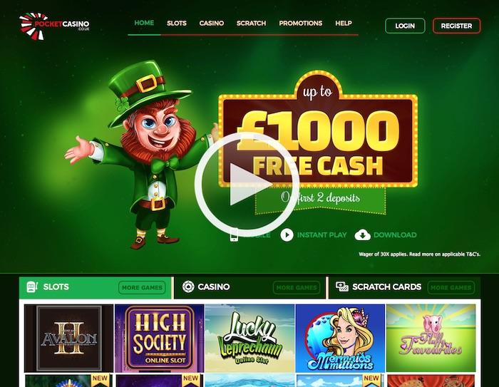 Cozy Games Pocket Casino Mobile Slot Site Review