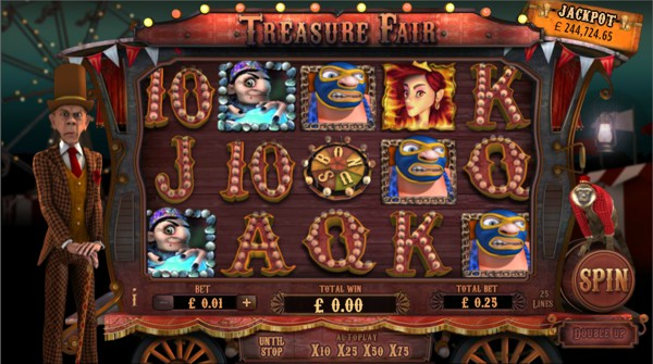 Screenshot of Treasure Fair Online Slot