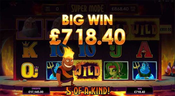 Hot as Hades Slot features a Free Spins Super Mode