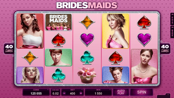 The Bridesmaids Slot from Microgaming is a popular game at Casino Room