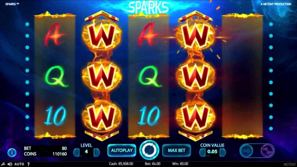 Play the Sparks Slot and more NetEnt Games at MrGreen.com