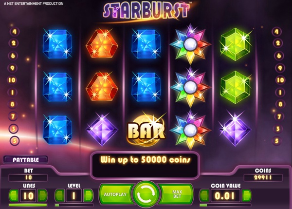 Play Starburst Slot at the new Karamba Casino