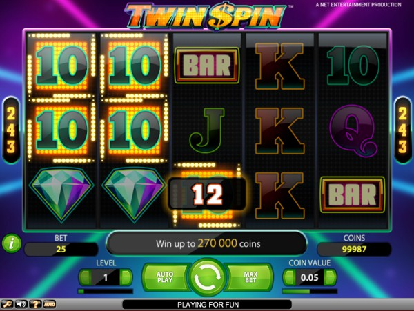 Play Twin Spin at Slingo Casino