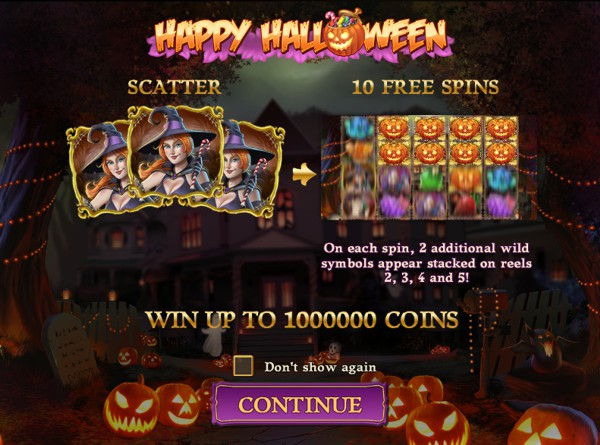 Spooky features include free spins and a gamble feature