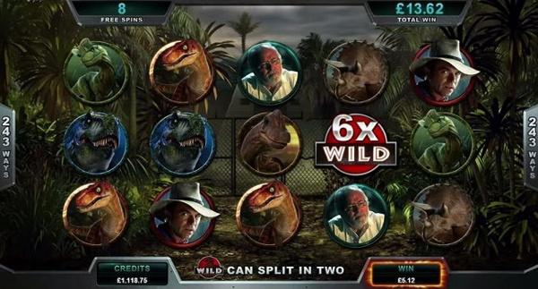 Play Jurrasic Park Slot at Glimmer Online Casino