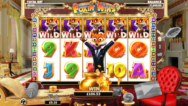 Foxin Wins Slot at Leo Vegas Mobile Casino