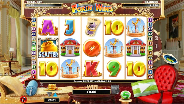 Screenshot of Foxin Wins Slot