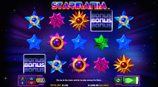 Starmania Slot at Hippozino Online Casino