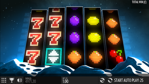 Screenshot of Arcader Online Slot