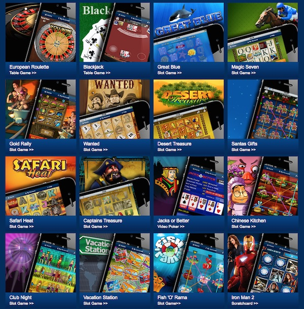 mobile casino games free
