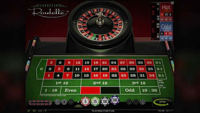 Reel Island Casino Games include European Roulette from NetEnt
