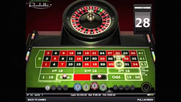 Prospect Hall features online roulette games from NetEnt