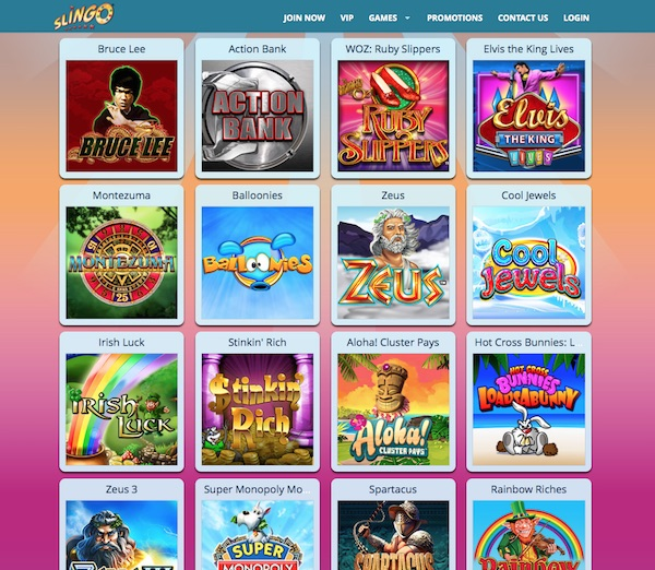 Slingo Casino UK Review of Games and Bonuses
