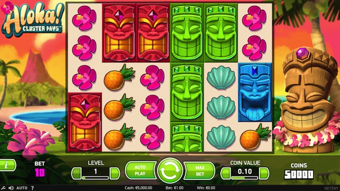 Aloha Slot from NetEnt