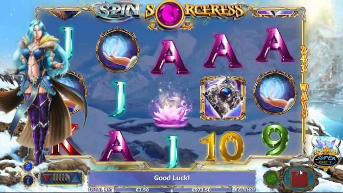 Spin Sorceress Slot