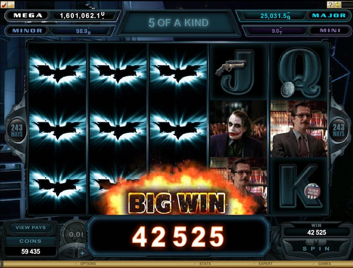 PKR Software allows players access to Progressive Jackpot Slots