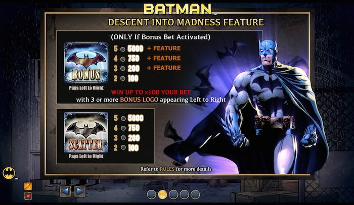 Batman casino slot