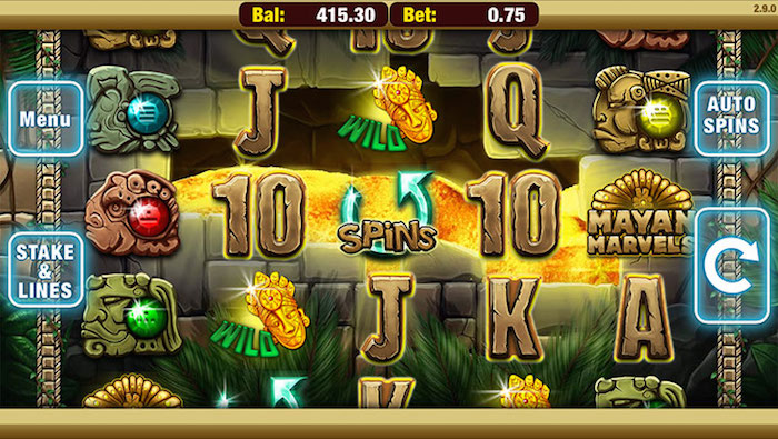 Nektan Software creates entertaining mobile slots including Mayan Marvels