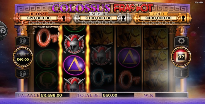 Colossus FracPot Slot Review