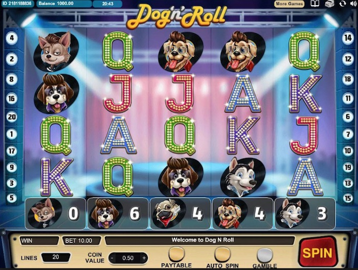 Cozy Games Dog N Roll Slot Review
