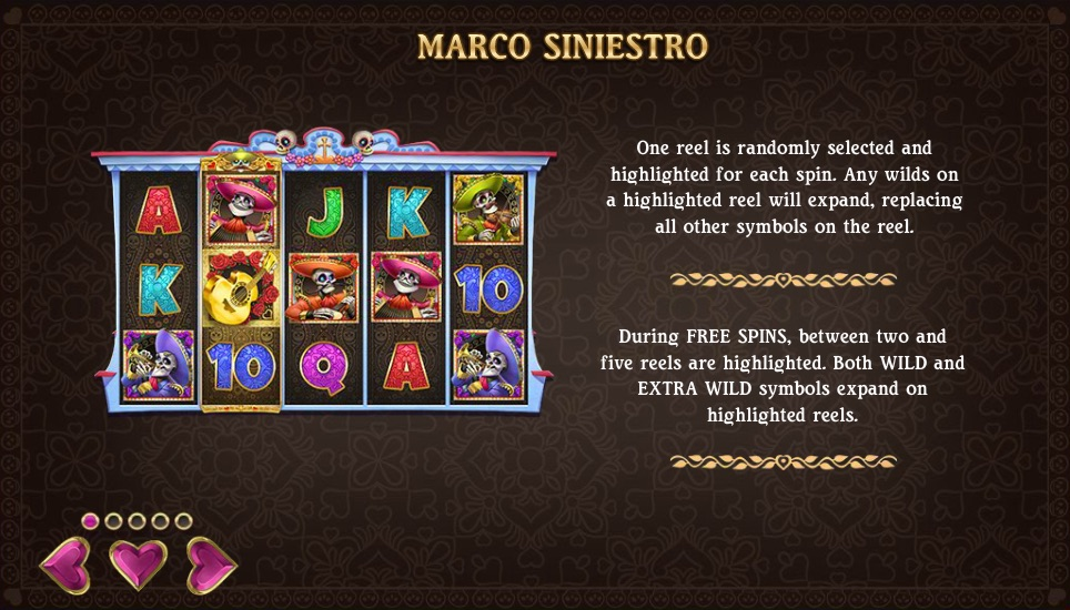 Grim Muerto from Play N Go features the popular Free Spins Bonus