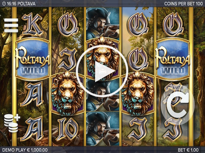 Screenshot of Poltava Online Slot
