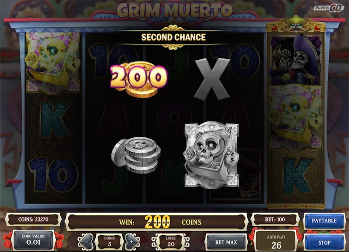 Play Grim Meurto Slot for Real Money or Free Play