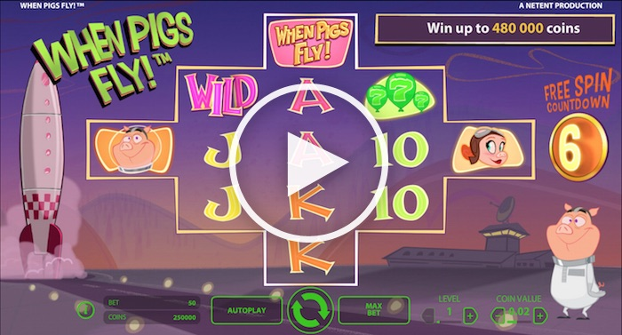 online casino free play when pigs fly