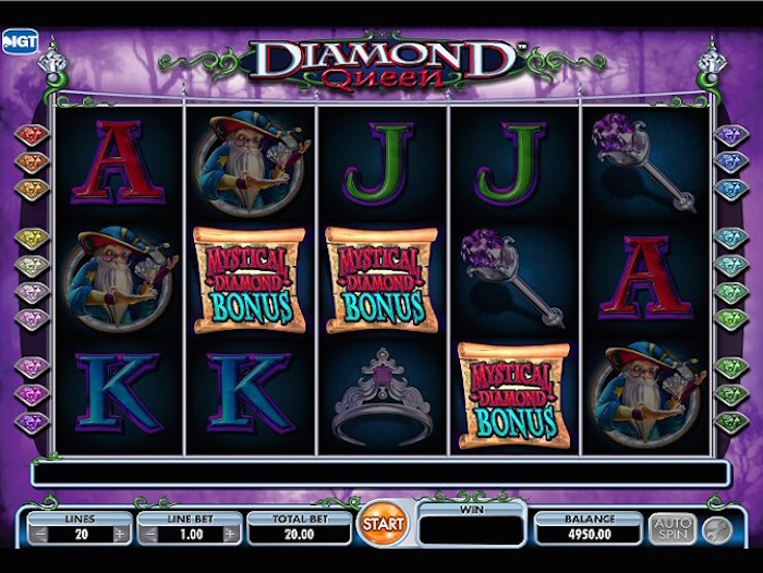 Diamond Queen Slot Review