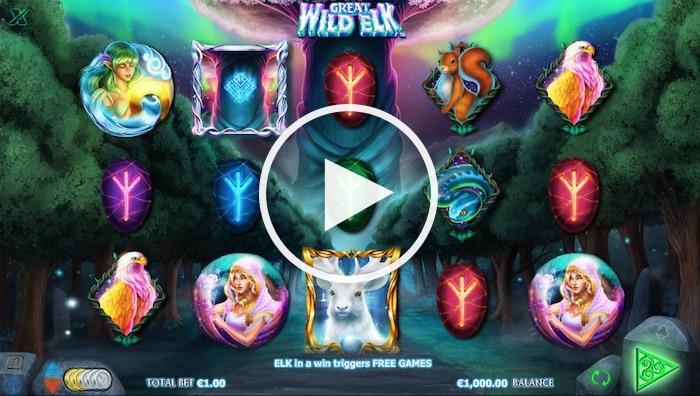 Screenshot of Great Wild Elk Online Slot