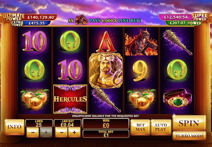 Mobile Slot Prince of Olympus
