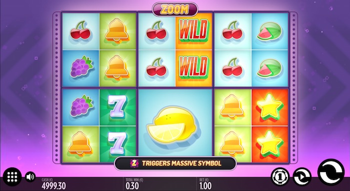 Graphics of Thunderkick Software in Zoom Online Slot
