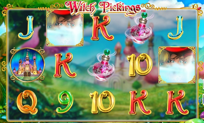 UK Review Screenshot of Witch Pickings Slot Gameplay