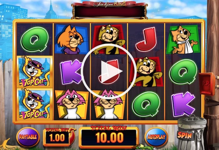 UK Player Review Screenshot of Top Cat Online Slot
