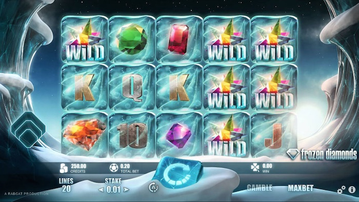 Frozen Diamonds Slot Review
