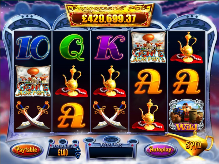 Genie Jackpot Slot Review