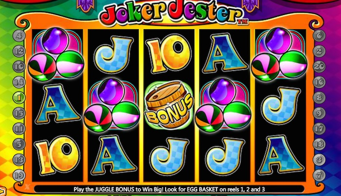 Real Money Play Graphics for Joker Jester Slot